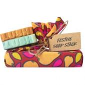 Festive Soap Stack